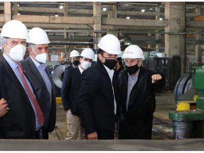 Metalúrgica L'Acerié ya lleva invertidos USD 20 millones
