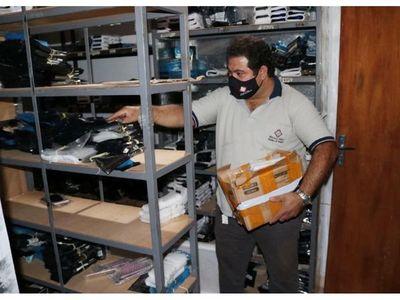 Dan duro golpe al contrabando, incautando artículos falsos por valor de USD 1.500.000
