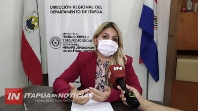 DESDE EL MINISTERIO DEL TRABAJO ITAPÚA, SALUDAN A LOS TRABAJADORES EN SU DÍA.