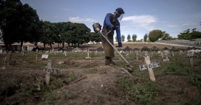 La Nación / El mundo supera los 150 millones de contagios y Brasil los 400.000 muertos
