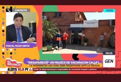 Continúa investigación sobre robo de vacuna contra el Covid-19 en San Lorenzo