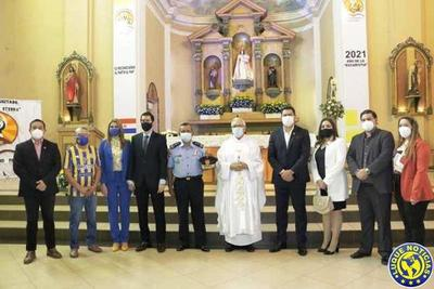 Celebran con una misa el Centenario de Luqueño •