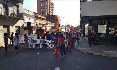 1° de Mayo: exigen trabajo digno, salud y vacunas para todos