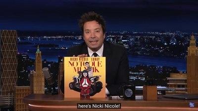 Nicki Nicole en el programa de Jimmy Fallon: de lo más elogiado en la semana