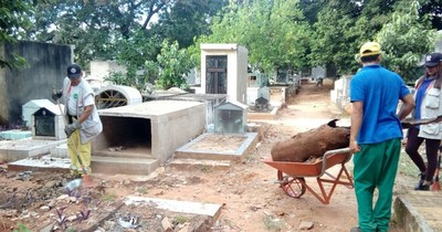 La Nación / Piden poner en condiciones cementerios ante oleada de fallecidos por COVID-19