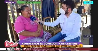 La Nación / Comedor solidario de Concepción pide donación de cocina a gas