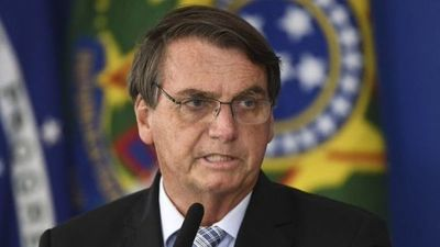 Miles marchan en Brasil en apoyo a Bolsonaro, pese a una situación sanitaria difícil