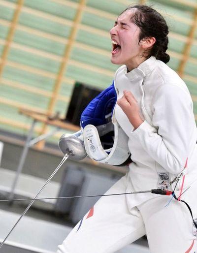 Montserrat Viveros va por único cupo a JJ.OO. de Tokio en espada
