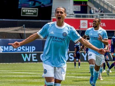 Jesús Medina y Valentín Castellanos marcan goles triunfo New York City Chester