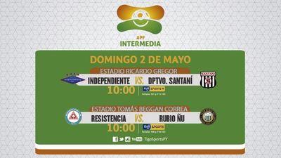Juegos en la Chacarita y en Campo Grande, por la Intermedia
