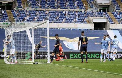 Lazio no renuncia a la 'Champions' con victoria sobre Génova