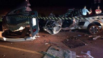Dos muertos en grave accidente de tránsito en el Este