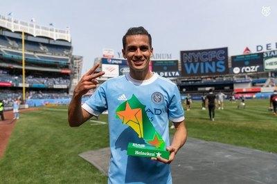 Versus / Jesús Medina, goleador y figura del New York City en la MLS