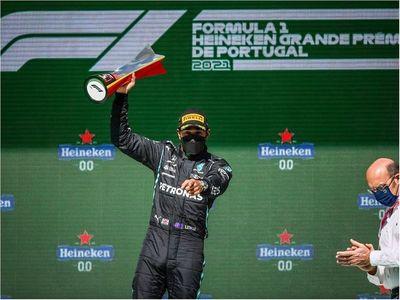 Fórmula Uno: Lewis Hamilton ganó en Portimao