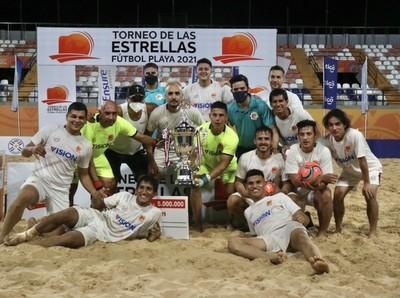 Visión Banco-Helvéticos es el campeón  del Torneo de las Estrellas
