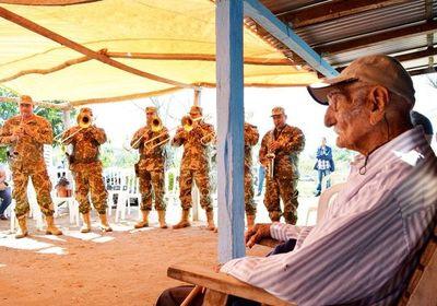 Último excombatiente de Concepción fallece a los 106 años
