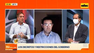 Los decretos y las restricciones del Gobierno