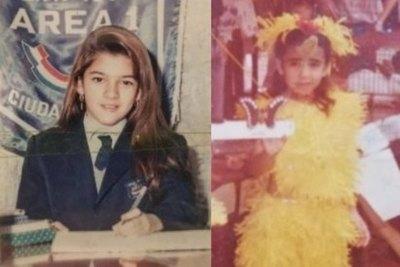 Crónica / Famosas pelaron fotos suyas de ¡escueleritas!