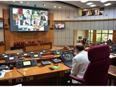 Presidencias en Legislativo serán claves  en caso de un juicio a Abdo