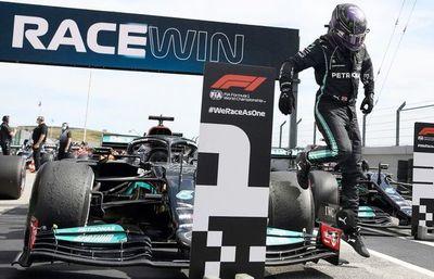 Hamilton triunfa en Portugal