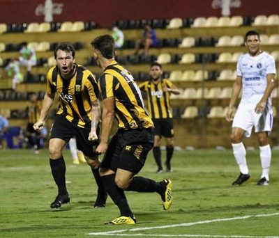 Guaraní venció al Danzarín en el estadio Rogelio S. Livieres