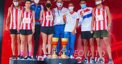 Sudamericano de Maratón: los paraguayos Ayala y Romero conquistaron el bronce