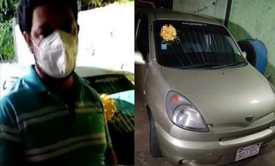 Joven devuelve vehículo que ganó en una rifa