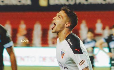 Versus / Luis Amarilla da triunfo a Liga de Quito en el último suspiro