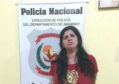 Brasileña detenida por robar dinero en efectivo de un local comercial