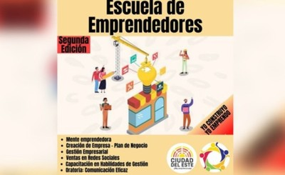 Proyectan segunda edición de la Escuela de Emprendedores en CDE