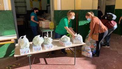 MEC distribuyó 103.811 kits alimenticios a instituciones educativas de Asunción