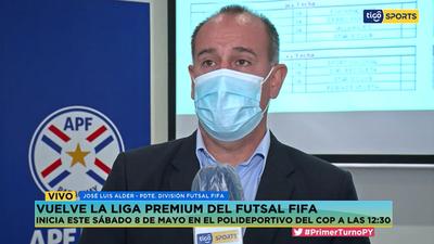José Luis Alder expresa su beneplácito por el regreso de la Liga Premium