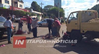 IDENTIFICAN A LAS MOTOCICLISTAS GRAVEMENTE LESIONADAS TRAS ACCIDENTE EN EL ACCESO DE SAN JUAN DEL PNÁ.