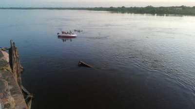 Sigue búsqueda de joven desaparecida en el río Paraguay