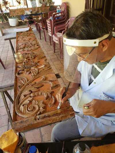 Continúa la restauración de la Iglesia San Lorenzo Mártir de Altos