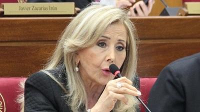 Mirta Gusinky renunció a su banca en el Senado