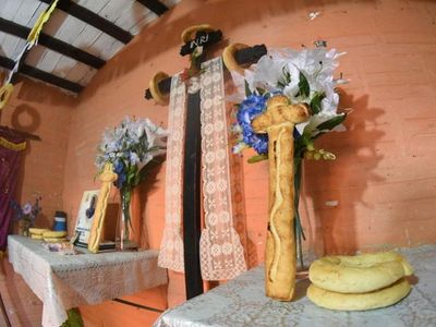 Católicos celebraron tradición del Kurusu Ára