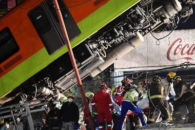 Un total de 20 muertos y 49 hospitalizados al desplomarse un metro en Ciudad de México