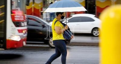 La Nación / Pronostican martes caluroso y lluvias dispersas
