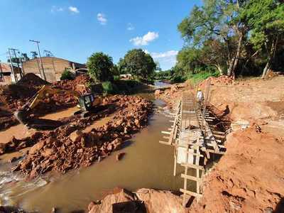 Construcción del segundo puente en la ciudad de San Antonio superó el 60% de avance