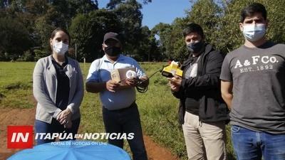 SIGUEN ENTREGANDO HIPOCLORADORES EN ITAPÚA.