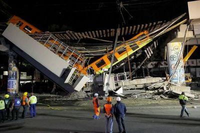 Se desplomó un tramo del metro en Ciudad de México: al menos 23 muertos y más de 50 heridos
