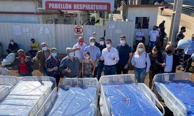 Como festejo por su cumpleaños, Ricardo Leiva donó 5 camas hospitalarias para Covid en CDE – Diario TNPRESS