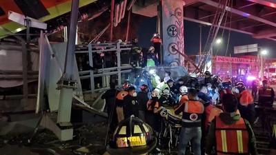 Desplome de un puente del metro en Ciudad de México deja al menos 15 muertos y cerca de 70 heridos (Video)