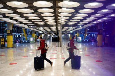 España amplía hasta el 25 de mayo las limitaciones a vuelos de Brasil y Sudáfrica