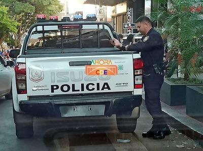 Jefes policiales se QUEDAN con el 60% de lo RECAUDADO por GUARDIA PRIVADA en CDE
