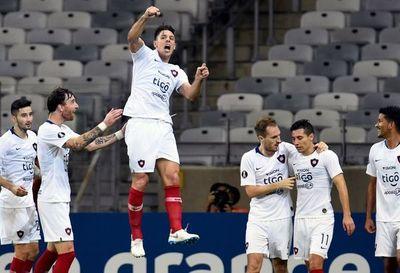 Diego Churín, el 1-0 y la histórica victoria de Cerro en el Mineirão