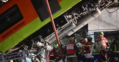 La Nación / Accidente en el metro de Ciudad de México deja al menos 23 muertos y 70 heridos