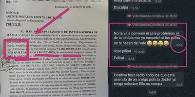 AGENTES DE INVESTIGACIONES EN LA MIRA POR EL ROBO DE UN AUTOMÓVIL