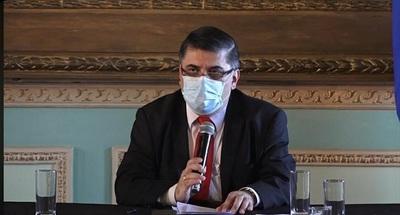 Ministro Borba dijo estar dolido por los casos de Vacunación VIP